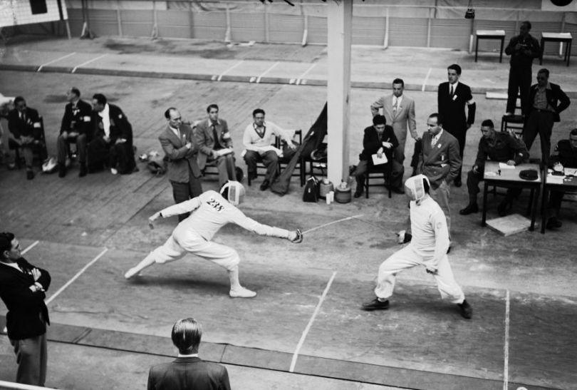 Męski turniej w szabli (fot. Getty Images)