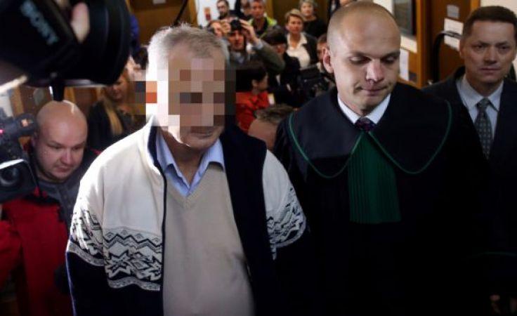Oskarżony Marek H. w sądzie (fot. arch. PAP/Grzegorz Momot)