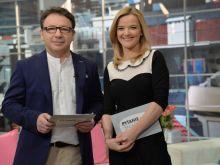 """Aktor i dziennikarka – jak sprawdzi się taki duet w """"Pytaniu na śniadanie""""? (fot. Ireneusz Sobieszczuk/TVP)"""