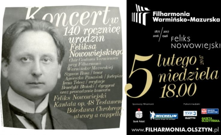 Koncert odbędzie się w niedzielę 5 lutego o godz. 18:00