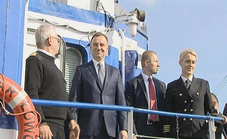 Andrzej Duda o rybołówstwie