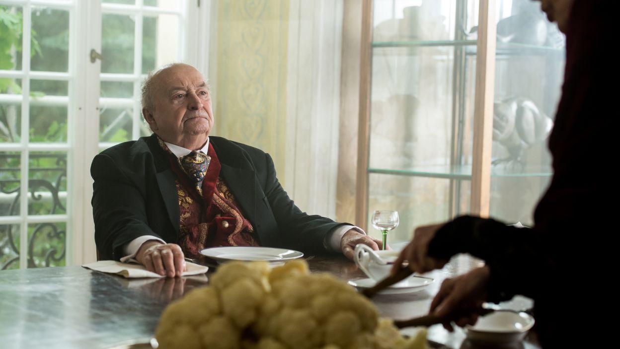 W postać Barona wcielił się Bohdan Łazuka (fot. Jan Bogacz/TVP)