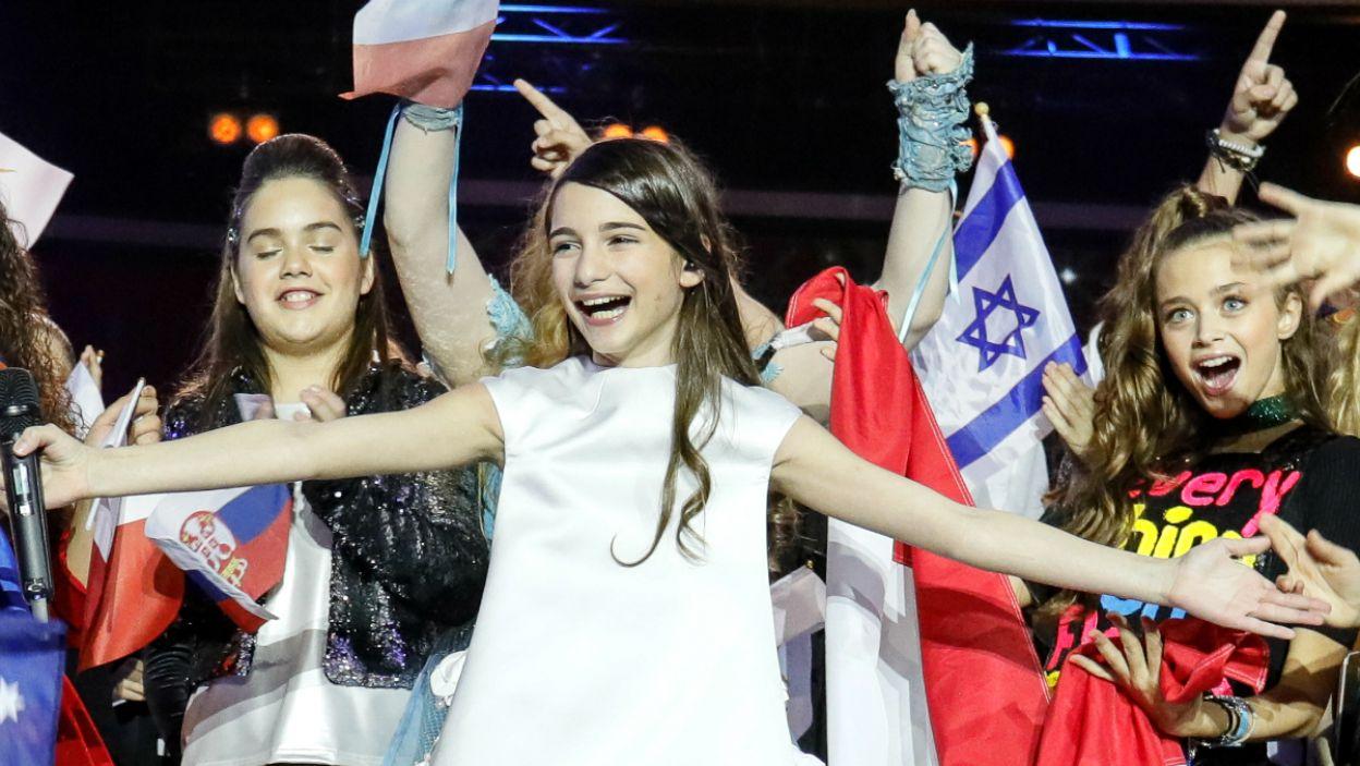 Gruzinka podbiła serca widzów w całej Europie (fot. Andreas Putting/EBU)