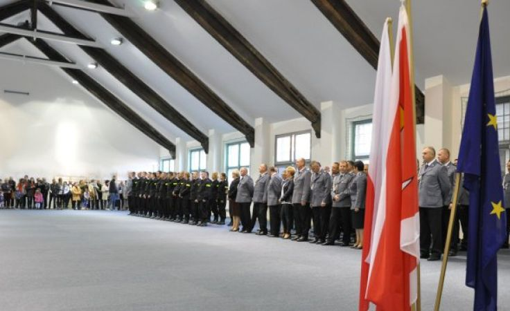 Nowi policjanci zostali wybrani spośród 1,5 tys. kandydatów (fot. KWP Olsztyn)