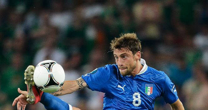 Claudio Marchisio w akcji (fot. Getty Images)
