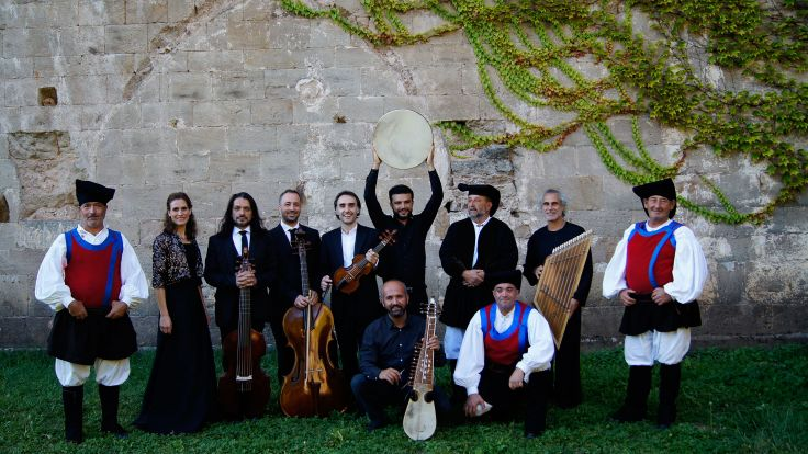 52 Festiwal Wratislavia Cantas - grupa Il Suonar Parlante i Cuncordu de Orosei (fot. Archiwum NFM)