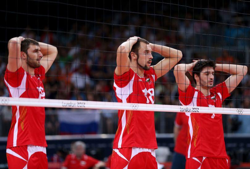 Bułgarom udało się wygrać jedynie trzeciego seta (fot. Getty Images)