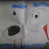 Rysunek Zuzanny Kasperskiej, 6 lat