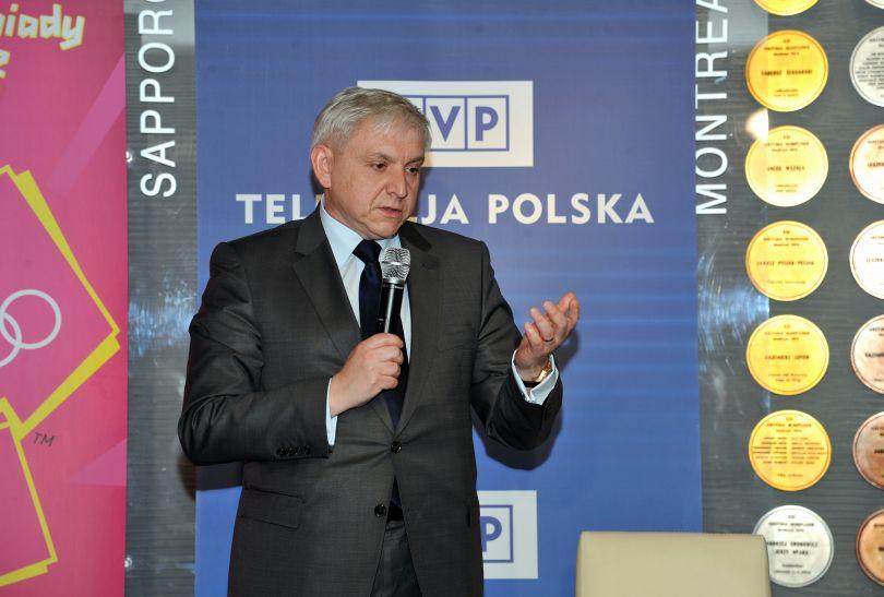 Bogusław Piwowar podpisał umowę ze strony TVP (fot. Jan Bogacz)