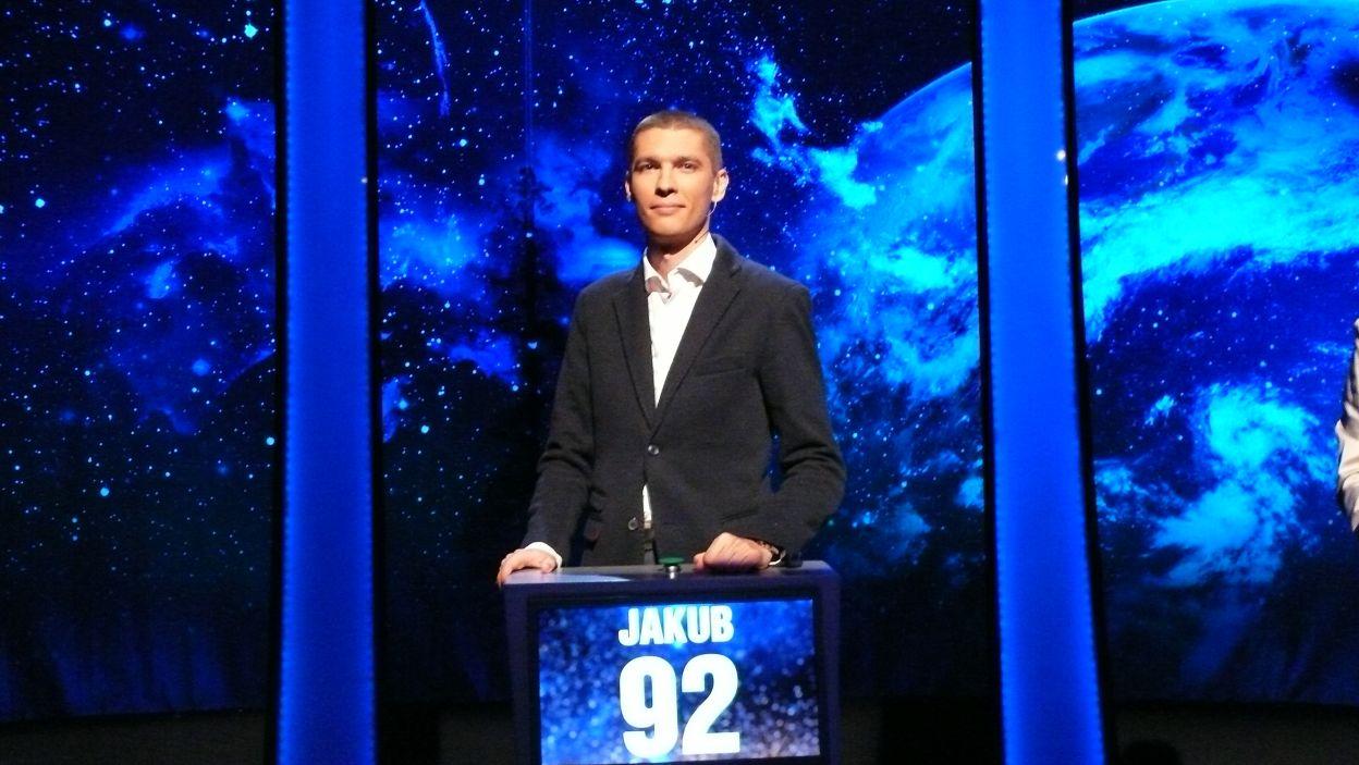 Jakub Falaciński - zwycięzca 18 odcinka 100 edycji