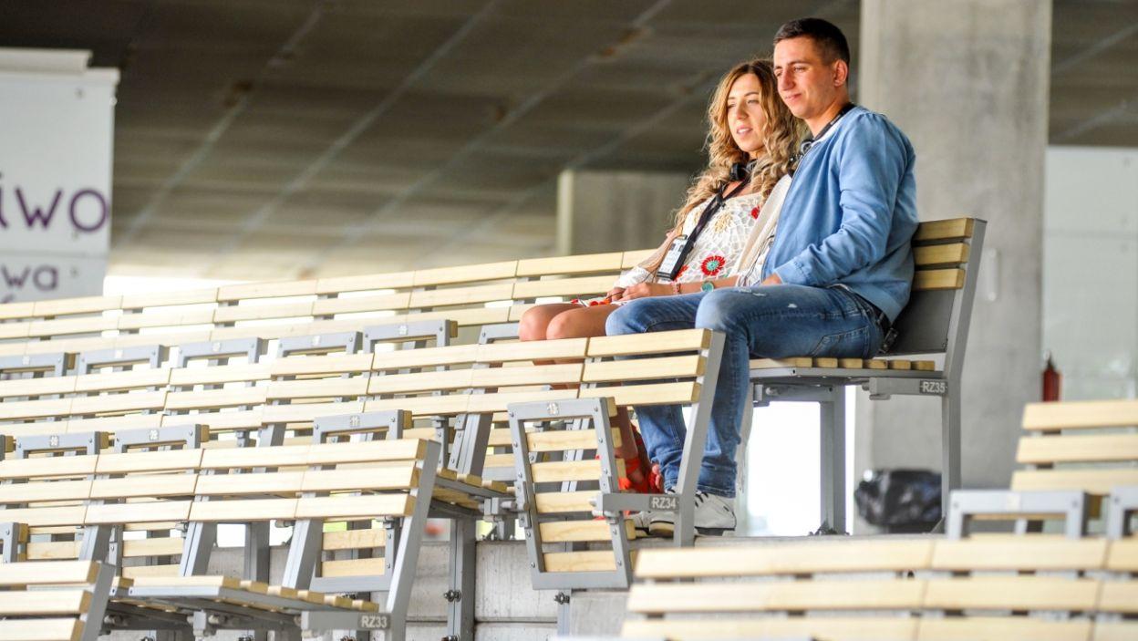 Małgorzata i Paweł wybrali się do Amfiteatru Tysiąclecia w Opolu (fot. P. Rewucki)