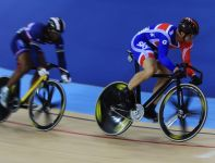 Chris Hoy (P) i Gregory Bauge (fot. Getty Images)