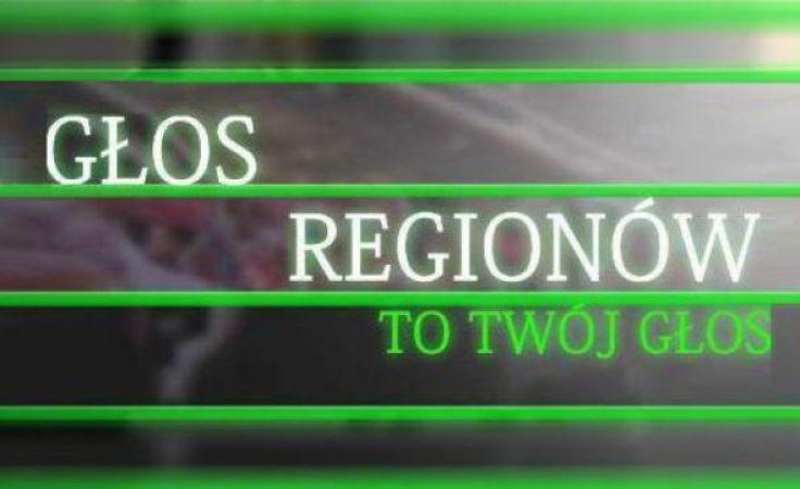 """Zapraszamy do obejrzenia """"Głosu Regionów"""" na naszej antenie o godzinie 12.05"""