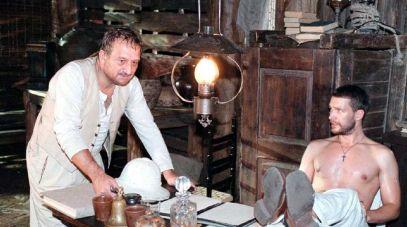 Kazimierz Kaczor i Michał Żebrowski (fot. arch.TVP)