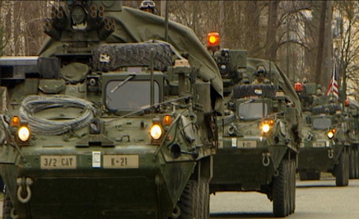 Co amerykańscy żołnierze robią w Lubuskiem?
