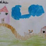 Rysunek Amelki z Winiar