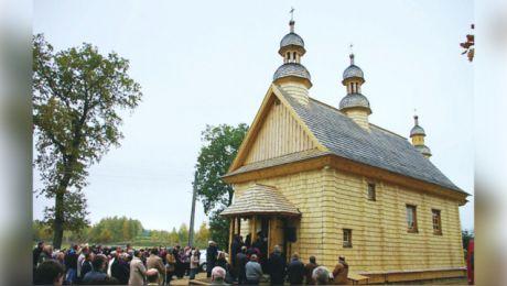 Prace budowlane i rekonstrukcyjne przy cerkwi zakończyły się w 2013 roku. (fot. archiwum parafii).