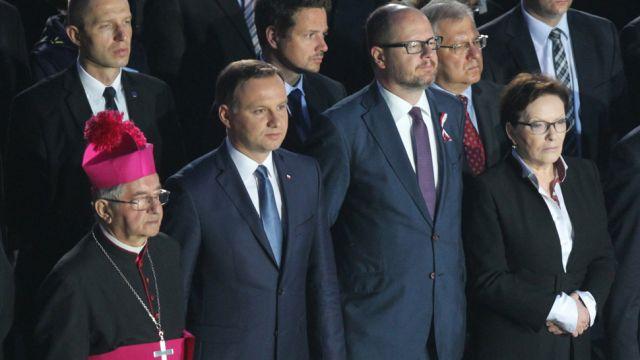 """Uroczystości na Westerplatte. """"Polska zawsze stała po właściwej stronie, po stronie wolnego świata"""""""