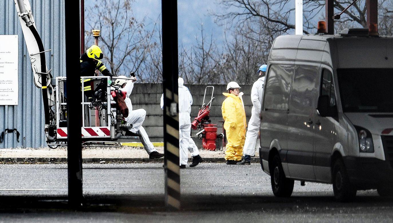 Śledczy ustalają okoliczności tragedii (fot. PAP/EPA/FILIP SINGER)