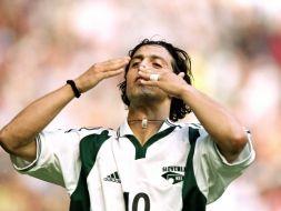 Zlatko Zahović to jeden z najlepszych piłkarzy w historii słoweńskiej piłki (fot. Getty Images)