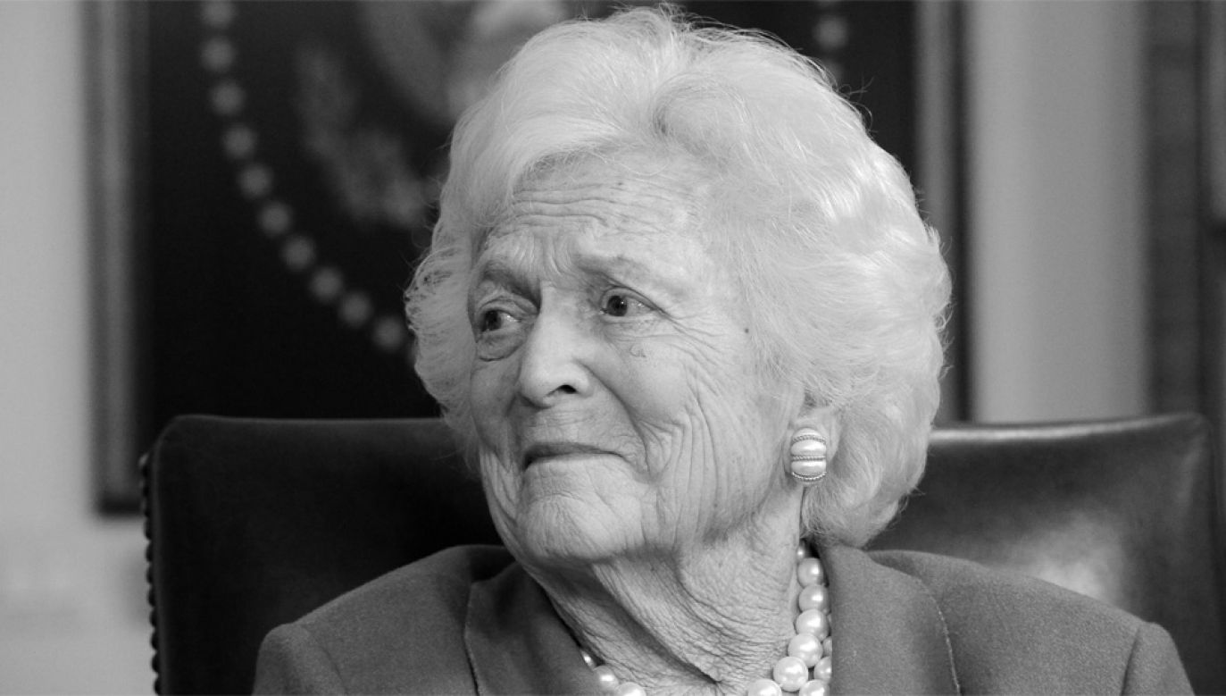 Barbara Bush miała 92 lata (fot. PAP/EPA/LARRY W. SMITH)