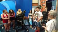 Wizyta uczniów z Gimnazjum nr 9 w Olsztynie