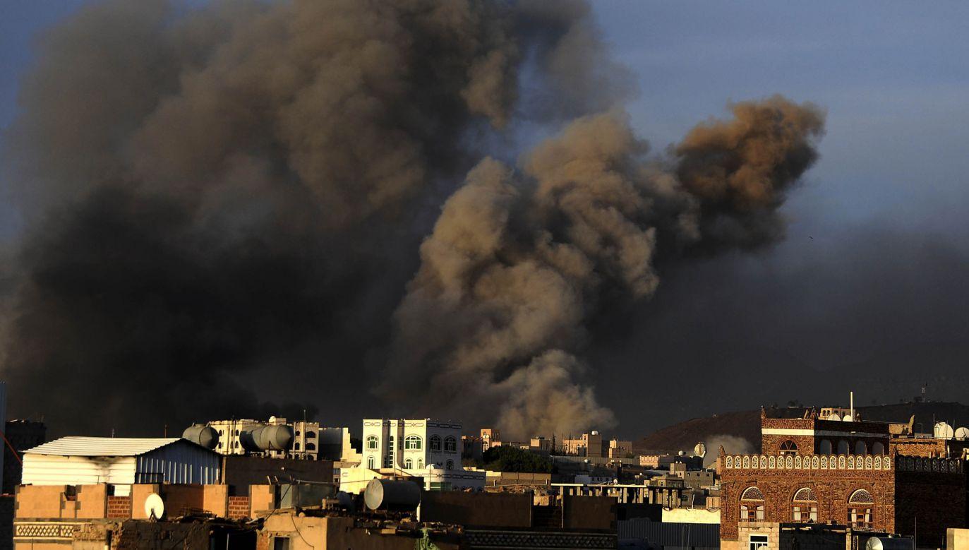 Jemen pogrążony jest w chaosie od 2011 r., gdy społeczna rewolta położyła kres dyktatorskim rządom prezydenta Alego Abd Allaha Salaha (fot.Getty Images/ Mohammed Hamoud)