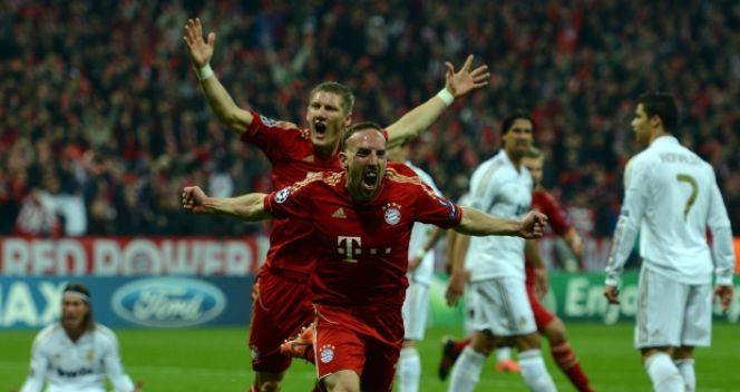 Franck Ribery gra obecnie w Bayernie Monachium (fot. Getty Images)