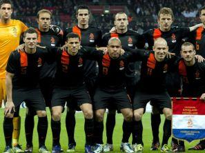 Reprezentacja Holandii (fot. PAP/EPA)