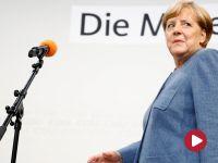 """""""Merkel wygrała, ale osłabła, wcześniej robiła sobie zdjęcia z islamskimi imigrantami"""""""