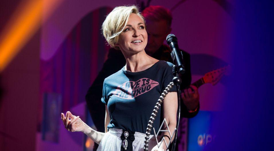 W tym odcinku w rolę jurora wcieliła się Ania Wyszkoni (fot. Jan Bogacz/TVP)