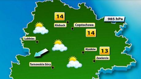 Prognoza pogody w Częstochowie