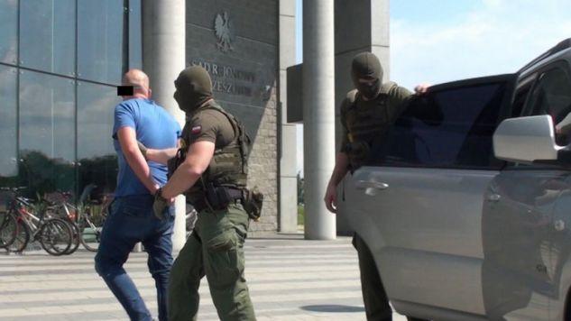 Na poczet kar śledczy zabezpieczyli nieruchomości warte ponad 4 mln zł (fot.cbsp.policja.pl)
