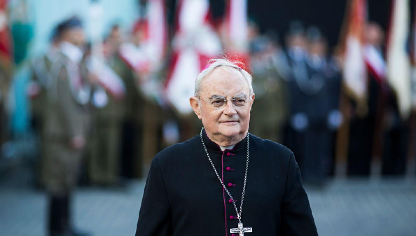 Abp Hoser odniósł się także do roli polityków w sprawie zmiany prawa aborcyjnego (fot. Adam Guz/Getty Images Poland)