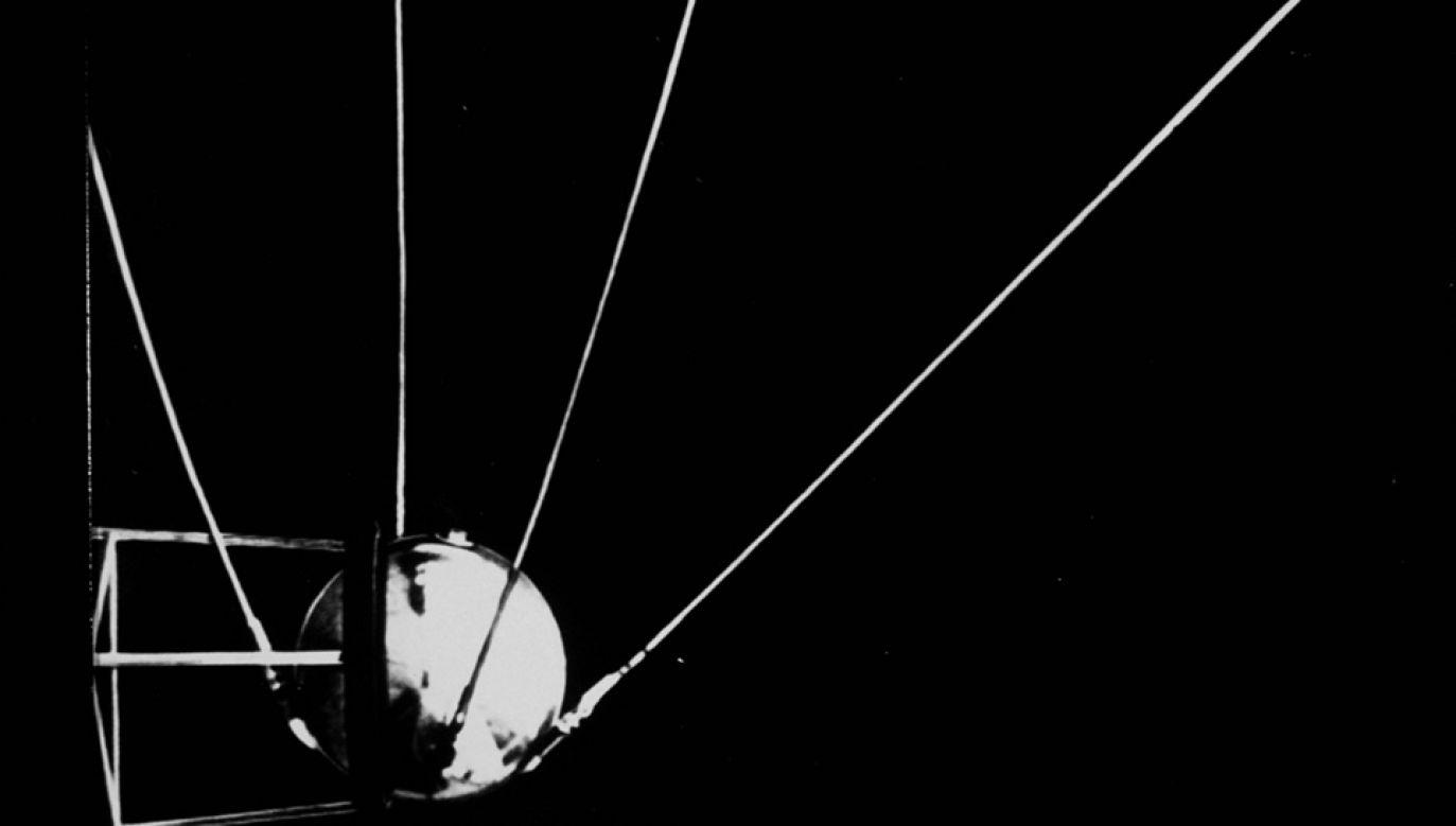 Start pierwszego satelity Sputnik 1 był początkiem radziecko – amerykańskiego wyścigu kosmicznego (fot. arch.PAP/Photoshot)