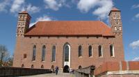 Zamek w Lidzbarku Warmińskim został wybudowany w XIV wieku