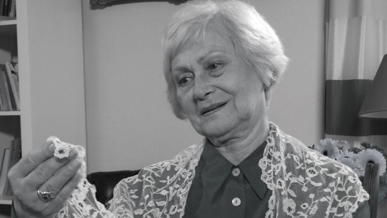 """Aktorka Kazimiera Utrata, znana m.in. z roli pani Stasi z serialu """"Klan"""", zmarła 12 sierpnia (fot. TVP)"""