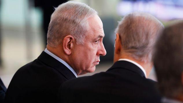 Izraelski premier Benjamin Netanjahu (fot. PAP/EPA/RONALD WITTEK)