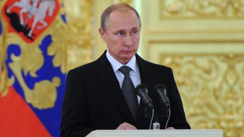 Prezydent Rosji Władimir Putin (fot. PAP/EPA/MIKHAIL KLIMENTYEV / RIA NOVOSTI / KREMLIN POOL)