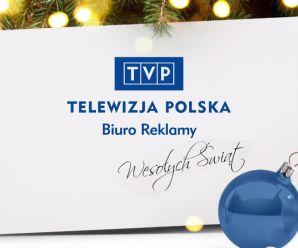 Wesołych Świąt życzy Biuro Reklamy TVP