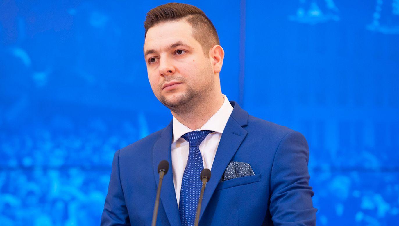 Zdaniem marszałka Senatu Patryk Jaki do dobry kandydat na prezydenta Warszawy (fot. Flickr/ Prawo i Sprawiedliwość)