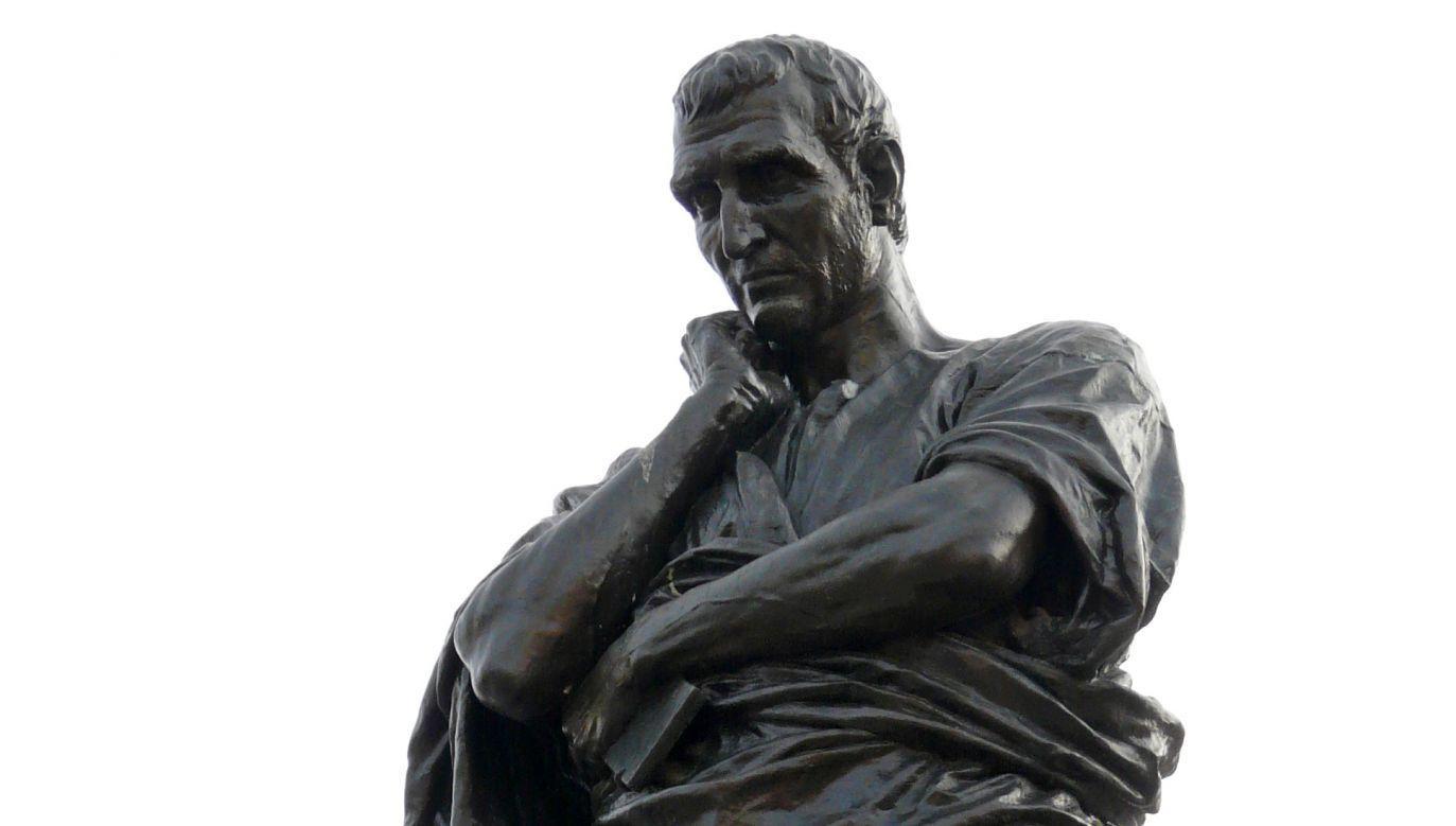 Pomnik Owidiusza w Konstancy (fot. wikipedia.org/ Kurt Wichmann)