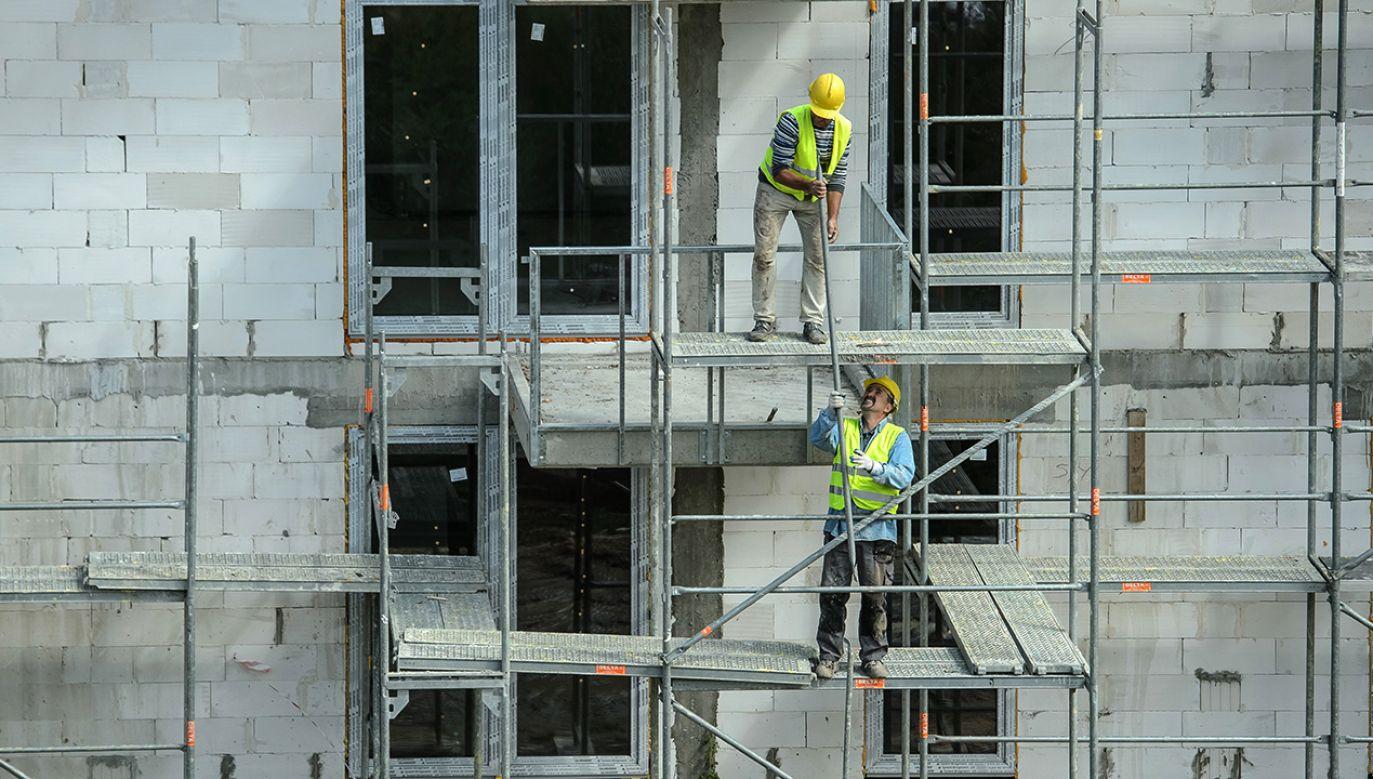 Budowa mieszkań w programie Mieszkanie Plus (fot. arch.PAP/Wojciech Pacewicz)