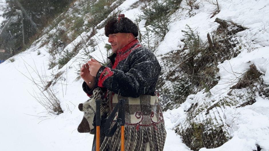 Bartek Koszarek-Benkowy, prowadzący Ślizg (fot. mmas)