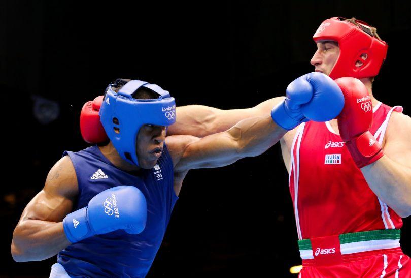 Jednak Joshua trzecią rundę wygrał zdecydowanie (fot. Getty Images)