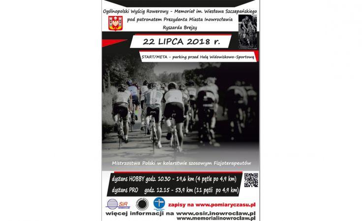 Wyścig Rowerowy - Memoriał Wiesława Szczepańskiego