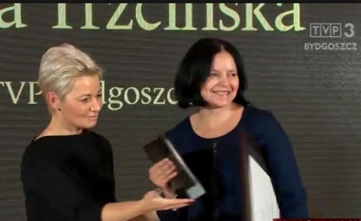 Anna Trzcińska z nagrodą za reportaż