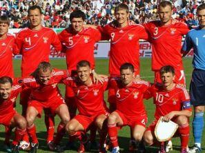 Reprezentacja Rosji (fot. PAP/EPA)
