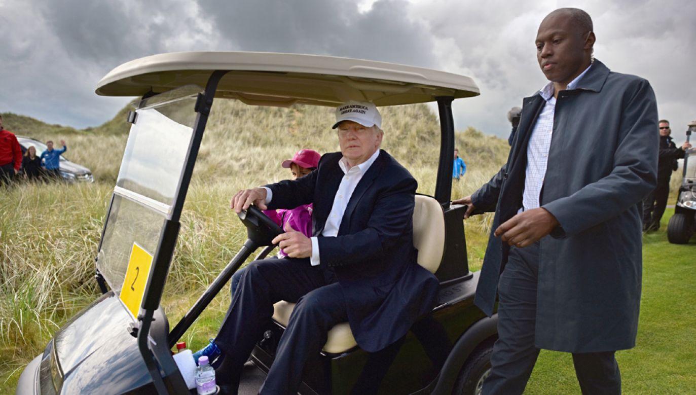 Zdaniem Trumpa Partia Demokratyczna zdradziła afroamerykańską społeczność (fot.Jeff J Mitchell/Getty Images)
