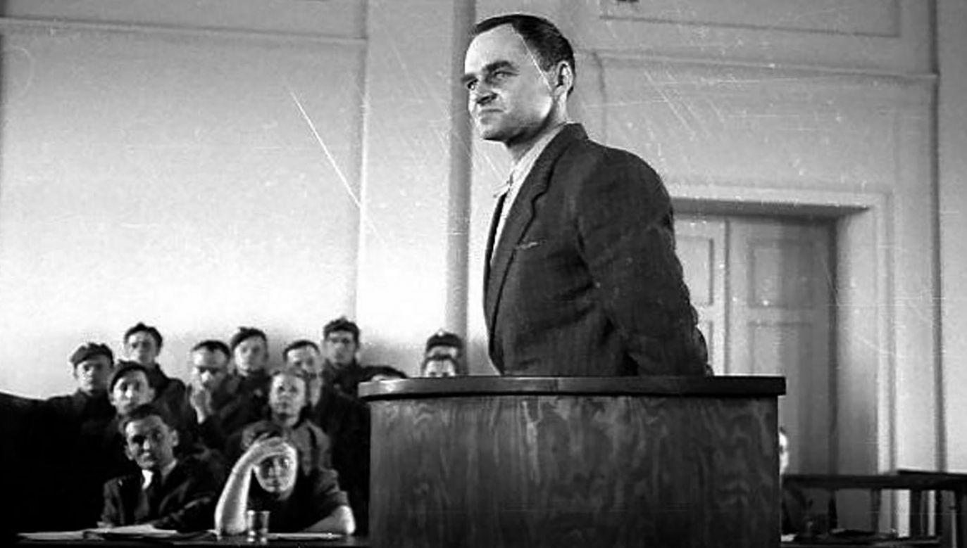 Rtm. Witold Pilecki zorganizował w Auschwitz organizację podziemną (fot. Wiki)